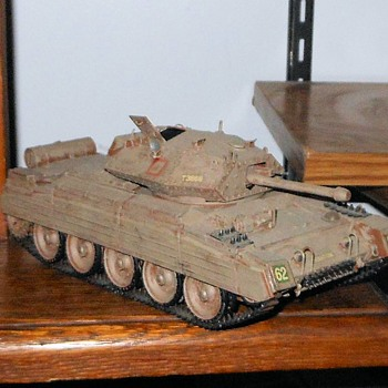 Tamiya Crusader III Tank 1/35th Scale