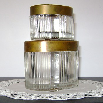 Vintage Powder Jars - Accessories