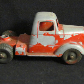 Vintage Toy Fire Truck  - Model Cars