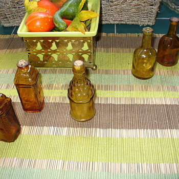 Small Amber Glass Bottles - Bottles