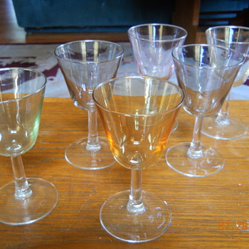 Wine Glasses- Made in France - Glassware