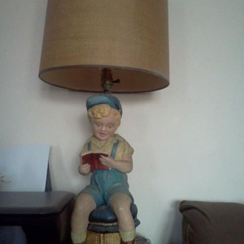 Little Boy Lamp