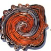 Fratelli Toso -- Murano Art Glass Bowl