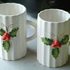 Holt and Howard  Porcelin hloiday cups 1952