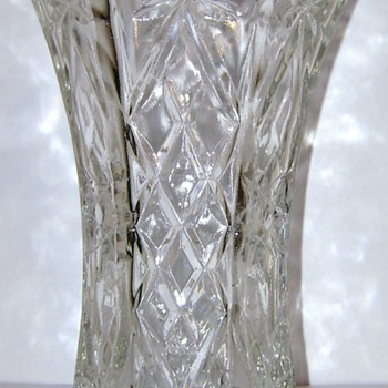Vintage Vase Unknown Maker - Glassware