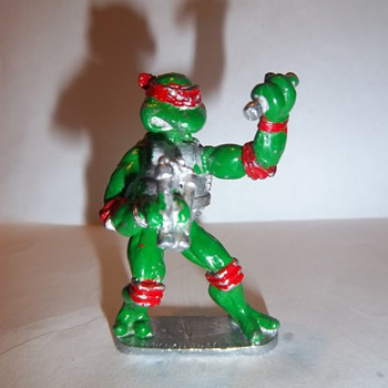 Teenage Mutant Ninja Turtles metal figurine