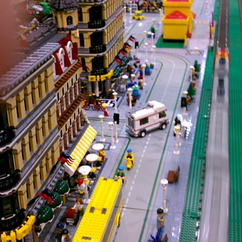 Lego Trains at Maker Faire - Model Trains