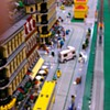 Lego Trains at Maker Faire