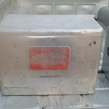 Vintage Rc Cola and Texas Ice Chests