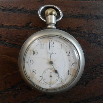 Antique Pocket Watch Regina