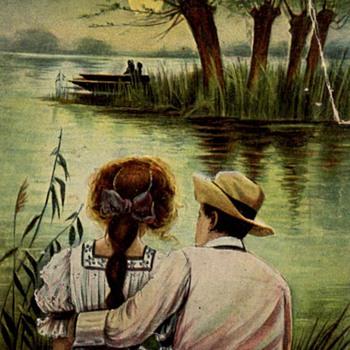 Postcard - Nuangola, PA 1909