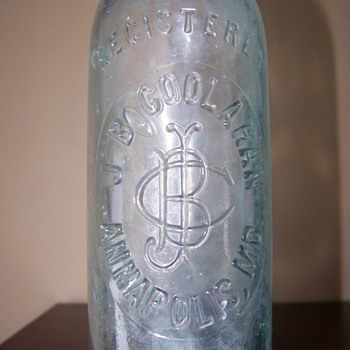 JB Coolahan Bottle, Annapolis MD