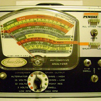 Vintage Auto Analyzer - Tools and Hardware
