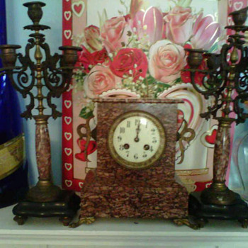 NEED HELP ON CLOCK AND CANDLE HOLDERS