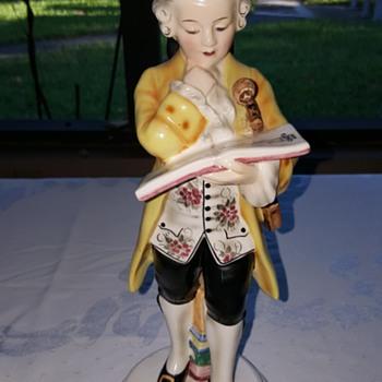 Austria Goldscheider Porcelain Musician Figurine