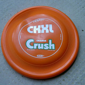 1975 Orange Crush Whamo-O Frisbee