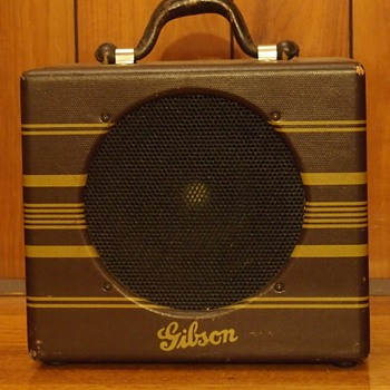 1937 Gibson EH100 amplifier - Guitars