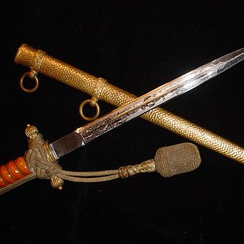Third Reich Navy Officer&#039;s dress dagger Model 1938 - Military and Wartime