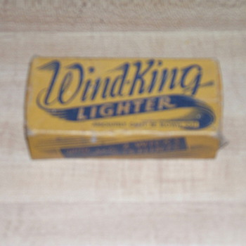 Wind-King Lighter    - Tobacciana