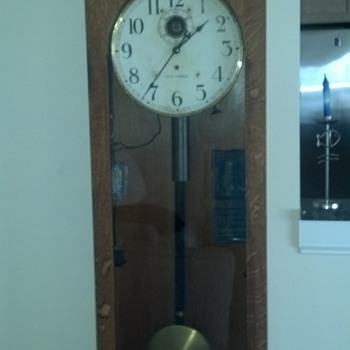 Seth Thomas clock from Lighthouse