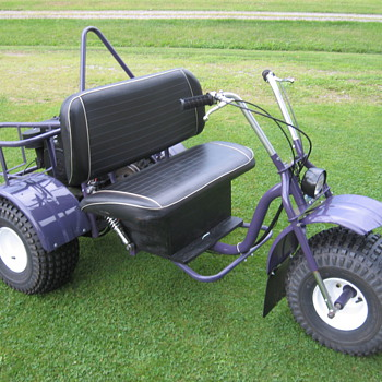 1970&#039;s-1980&#039;s Carl Heald Super Tryke yard trike minibike