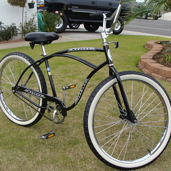 Kevin's Unrestored 1989 Schwinn Cruiser - Outdoor Sports