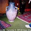 Roseville Carnelian II 457-24 Vase