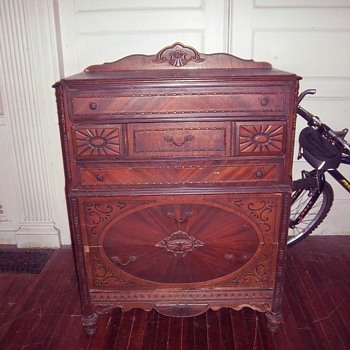 Dove tail bureau I bought from a friend