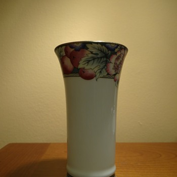 ROYAL DOULTON ORCHARD HILL VASE C.1994 - Art Pottery