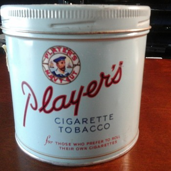 John Player's and Sons Tin - Tobacciana
