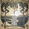 Koloman Moser 1899 Cover Lithograph