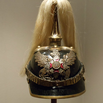 "Replica Baden ""109th Grenadiers"" Officer spiked helmet - Military and Wartime"