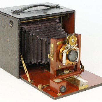 Blair Special Folding Hawk-eye, c.1896 - Cameras