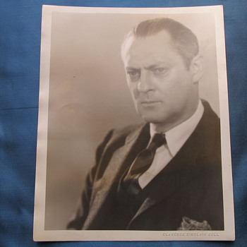 Lionel Barrymore portrait taken by Clarence Sinclair Bull 