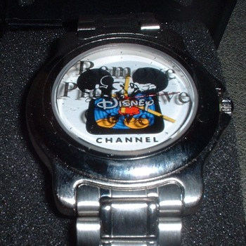1980's-90's Disney Channel Wrist Watch