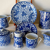 Blue &amp; white Phoenix pattern china from Japan