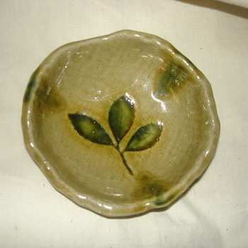 ASIAN SMALL FOOTED BOWL