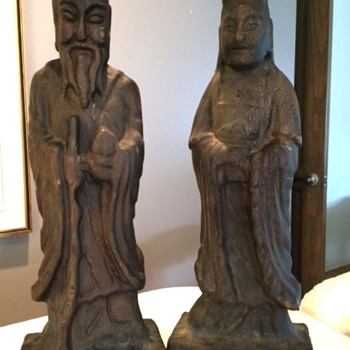 Asian Wood sculptures