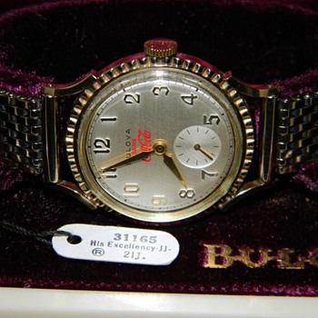 Coca-Cola 1949 Bulova Watch - Coca-Cola