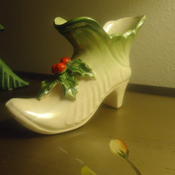 womens high heel shoe for christmas. - Christmas