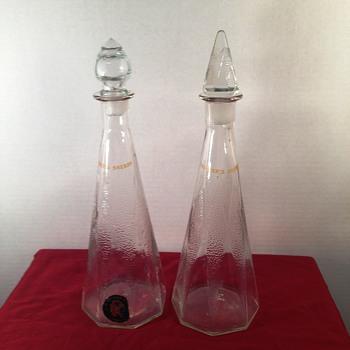 D. Recher Sherry Decanters? - Bottles