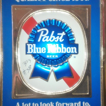 Pabst Blue Ribbon Beer Sign!