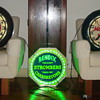 spinner neon clocks