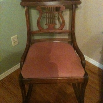 rocking chair, almost ready for one!