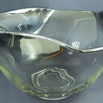 Silver Fade Salad Bowl