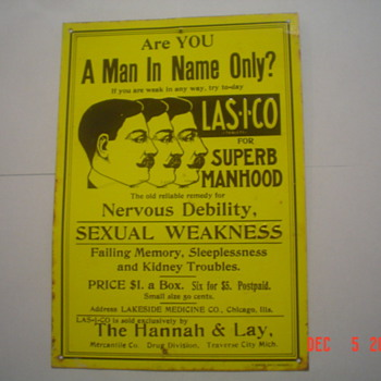 Lasico Superb Manhood - Signs