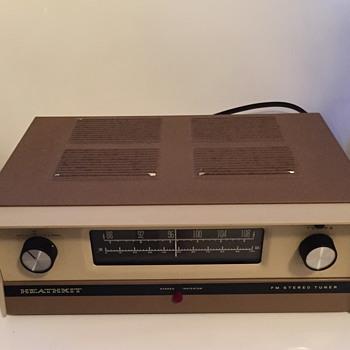 Heathkit FM Stereo tuner. - Electronics