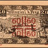 Austria - 20 Heller emergency Note - 1921