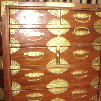 Asian ( I think) Jewelry Box - Asian