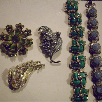 A few of my latest finds. - Costume Jewelry